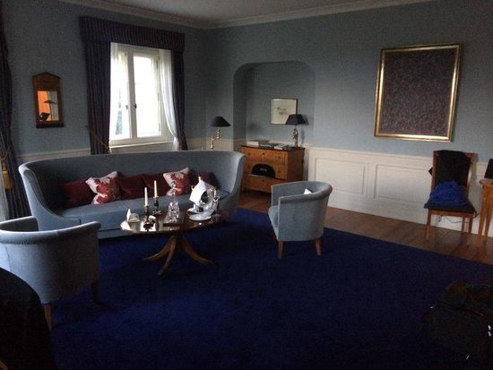 Schlosshotel Burg Schlitz: Ein Traum in blau.