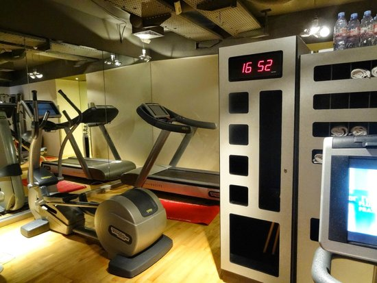 Pullman Paris Centre - Bercy : Fitnessraum