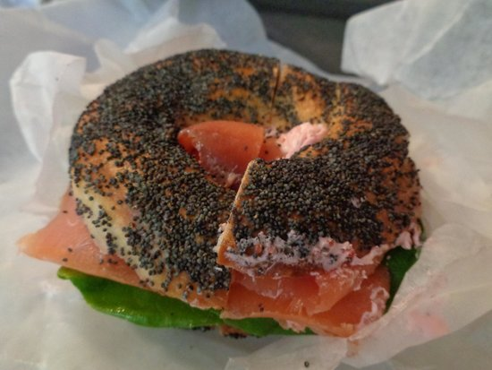 Photo of American Restaurant Black Seed Bagel at 170 Elizabeth St, New York, NY 10012, United States