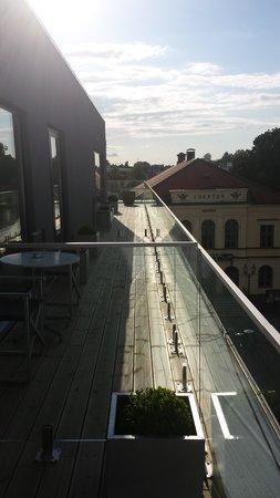 PM & Vanner Hotel: Härlig balkong