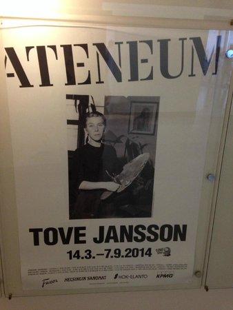 Ateneum Art Museum: トーベヤンソン展