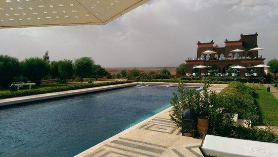 Hotel Sultana Royal Golf : View from the pool