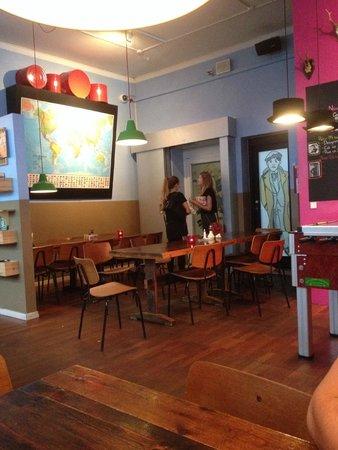 Copenhagen Downtown Hostel : Open Space
