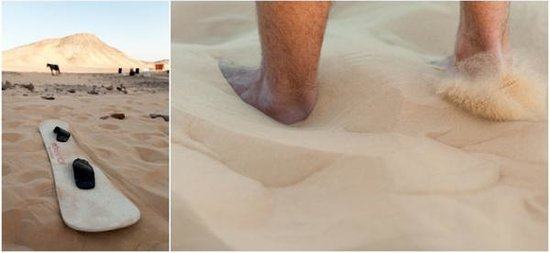 AnaKato : sand boarding on Nubian Desert
