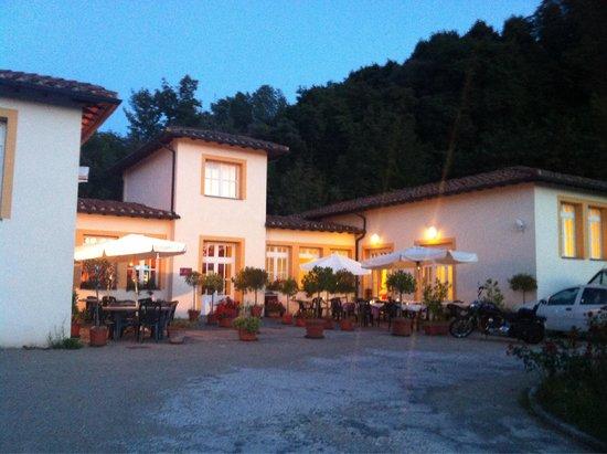 Hotel Foresteria Volterra : Vista frontale