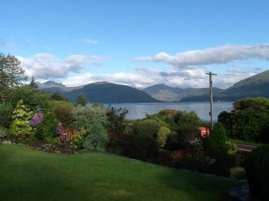 View from Ardno House