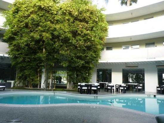 Avalon Hotel Beverly Hills: Restaurant - Poolside