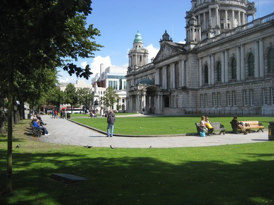 City Hall: Good weather