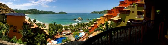 Embarc Zihuatanejo: View from the reception area