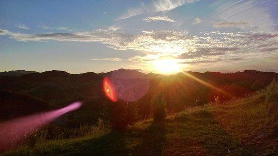 La Collina del Sole: il panorama