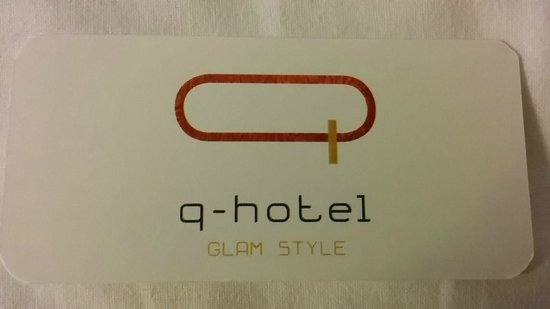 Q Hotel: Biglietto da visita