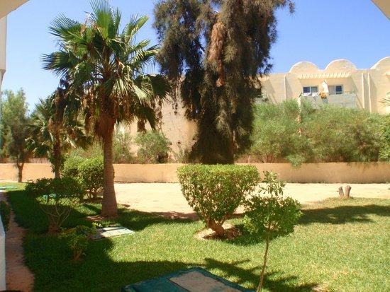 Hotel Nereides: jardin
