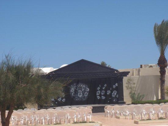 Hotel Nereides: scène spectacle