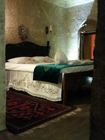 Cappadocia Abras Cave Hotel : cave room