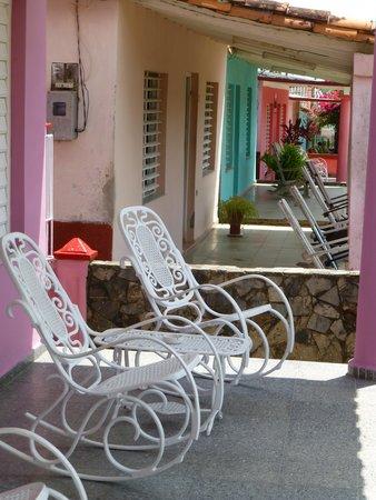 Villa Nereyda: Verandahs built for visiting