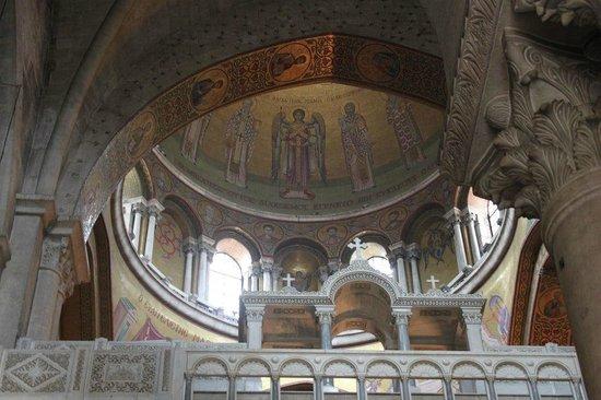 Church of the Holy Sepulchre: Affreschi della cupola