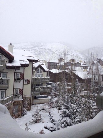 Sonnenalp: после снегопада
