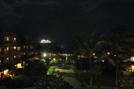 Grand Aston Bali Beach Resort: View at night