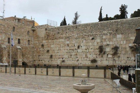 Mur des lamentations : Il muro