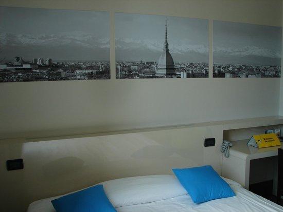 B&B Hotel Torino : Chambre
