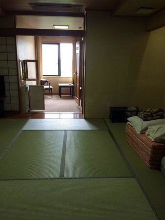 Takayama Kanko Hotel: Room we were actually assigned to on arrival