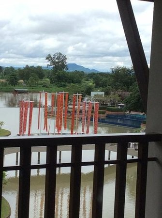 Le Meridien Chiang Rai Resort: view from our balcony