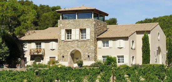 Roubia, Frankrike: Façade Château Tourril