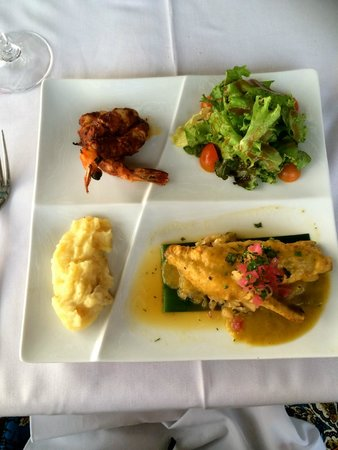 Restaurante Mar y Cielo: The tasting menu didn't disappoint