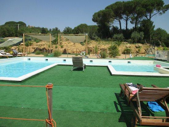 Villa Trigona : Piscine