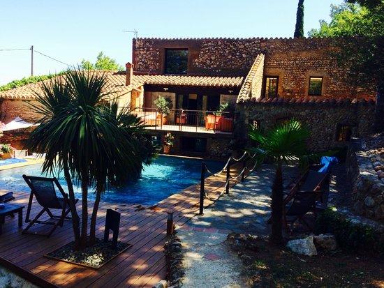 Casa9 Hotel : Piscine + terrasse chambre vue piscine