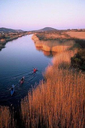 Agriturismo Predas Rujas: fiume di Posada