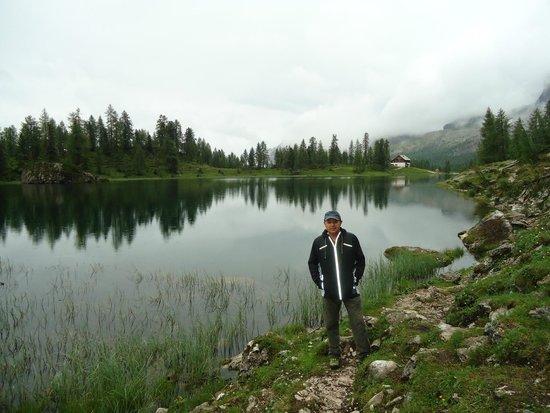Rifugio Croda da Lago G. Palmieri: maravilloso el reflejo