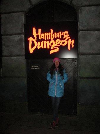Hamburg Dungeon: вход