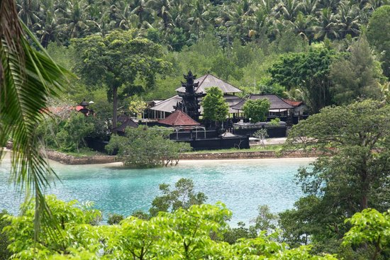 Twin Island Villas : View from the breakfast table