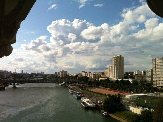 Huatian Chinagora Hotel : Vue du balcon