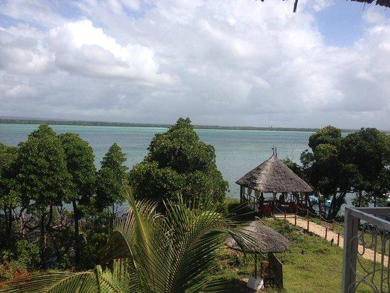 Temple Point Resort: vista sulla laguna