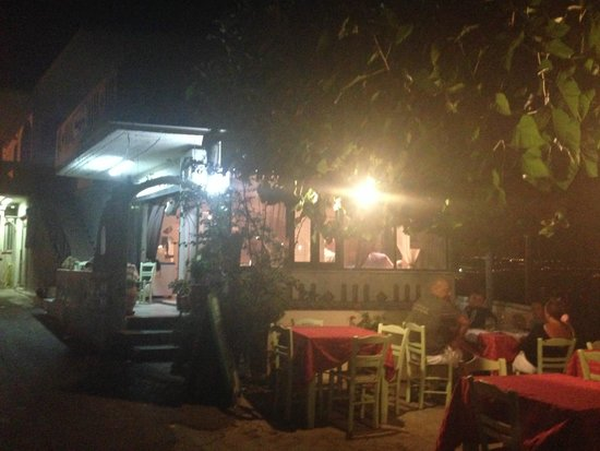 Intzedin Taverna: l'exterieure