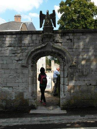 Abbaye de St-Wandrille: L'ingresso