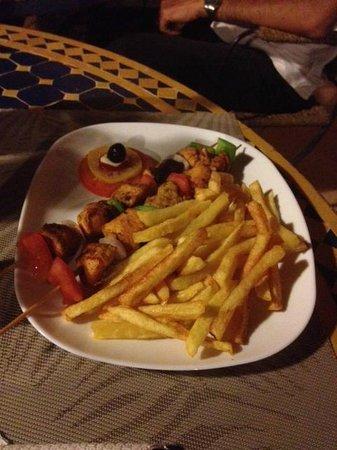 Auberge Bagdad Cafe: Un des supers bons plats dégustés!