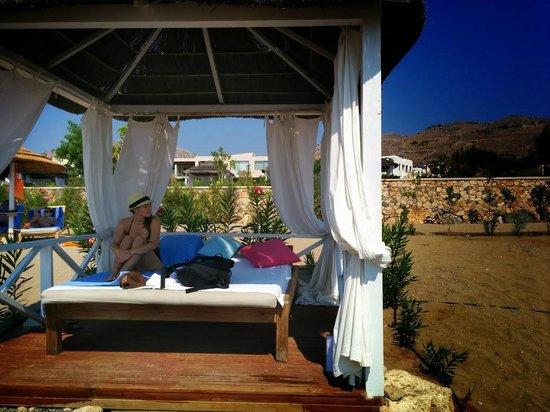AquaGrand Exclusive Deluxe Resort: Private gazebo
