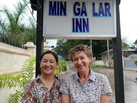 Mingalar Inn : Excellent reception staff