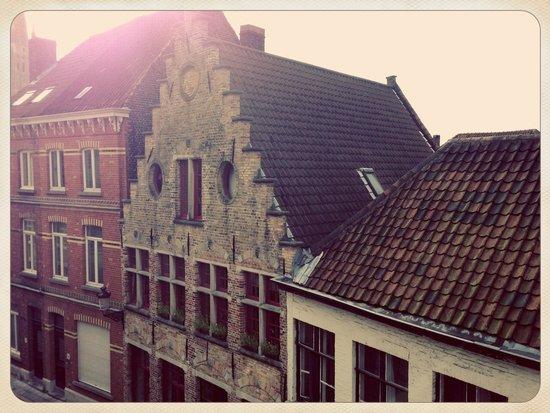 Huis 't Schaep: View from Coucke suite (left)
