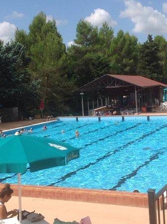 Camping Pian di boccio : piscina