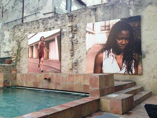 Hotel d'Arlatan: piscine