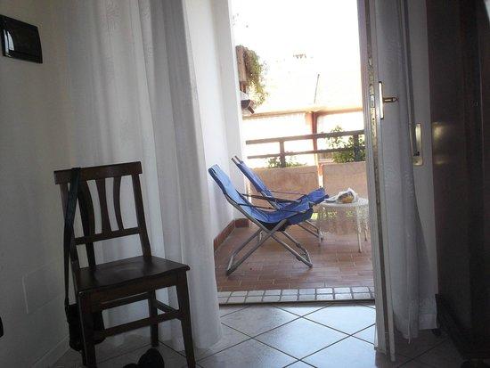 B&B Villa Lina: Balcon