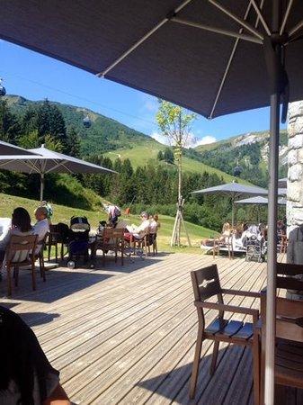 Club Med Valmorel : terrasse