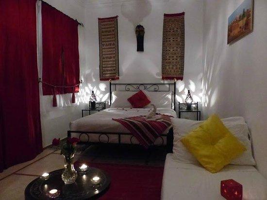 Riad Hcekarram: chambre