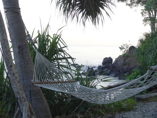 The Oberoi, Lombok: One of the hammocks by the beach