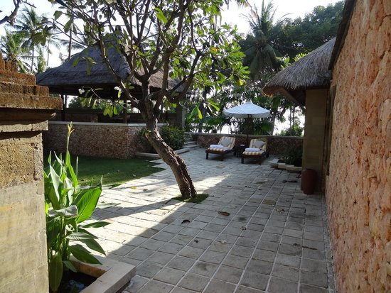 The Oberoi, Lombok: Ocean view villa courtyard