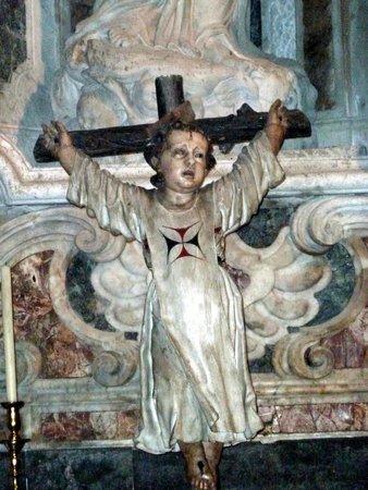 Cathedral of Cadiz: Bimbo in croce